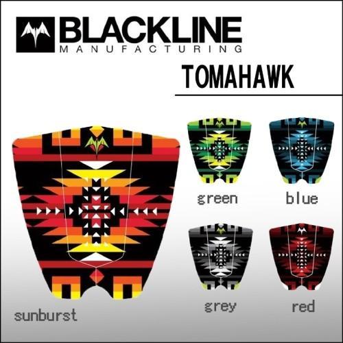 黒LINE(ブラックライン) デッキパッド TOMAHAWK(トマホーク)モデル