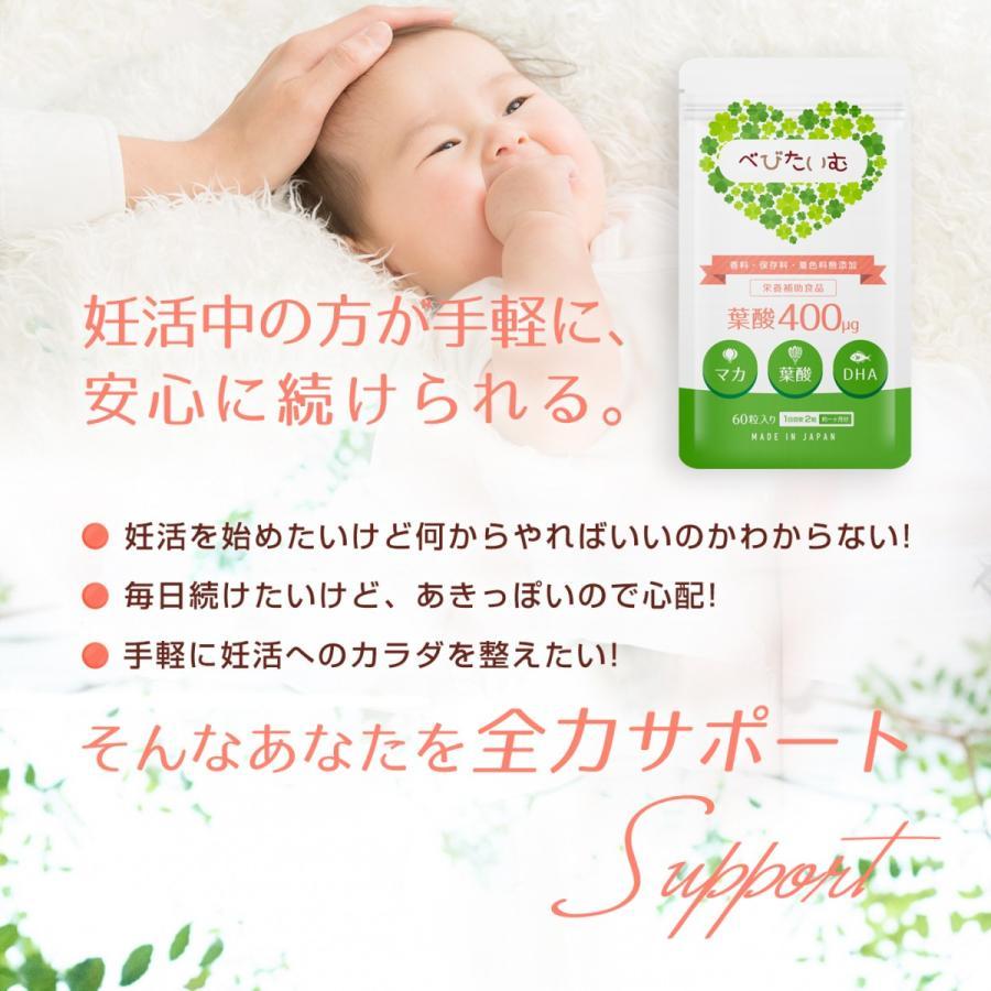葉酸サプリ 妊活中 妊娠中 出産 べびたいむ 人気 おすすめ 無添加 マカ DHA ビタミン サプリメント 授乳 妊婦 赤ちゃん アフリカマンゴノキ stressfree 03