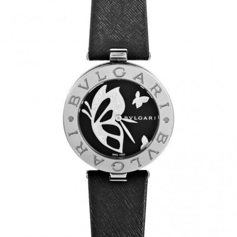 【予約中!】 Bvlgari/ブルガリ レディース ウォッチ B.zero1 Black Dial With Diamond Inlay Butterfly Motif レディース Watch 101980, ラケットショップけいすぽ 7a624844