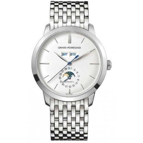 正規 Girard Perregaux/ジラール・ペルゴ メンズ 1966 腕時計 Girard 1966 自動巻き メンズ 自動巻き Watch 49535-53-152-53A, MACBELT:88a71b2b --- airmodconsu.dominiotemporario.com