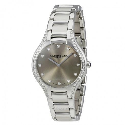 高質で安価 Raymond レディース Watch Weil Diamond/レイモンド・ウィル レディース 腕時計 Noemia シルバー Dial Diamond レディース Watch 5132-STS-65081, 和田町:fcb397e7 --- airmodconsu.dominiotemporario.com