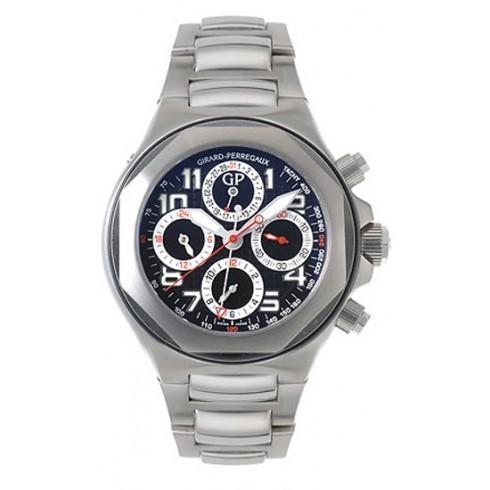 超安い Girard ステンレス鋼 Perregaux/ジラール Watch・ペルゴ メンズ 腕時計 Laureato EVO3 Girard ステンレス鋼 メンズ Watch 80180-1-11-6516, キタアリマチョウ:76a3ece6 --- airmodconsu.dominiotemporario.com