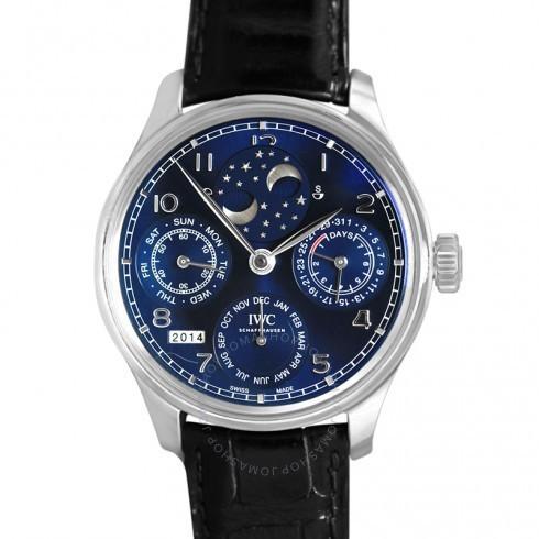 最先端 IWC/アイダブリューシー メンズ 腕時計 Portugieser Portugieser Watch Perptual Calendar 5034-01 Double Moonphase 18K White ゴールド メンズ Watch 5034-01 IW503401, 文京区:ca63d61f --- airmodconsu.dominiotemporario.com