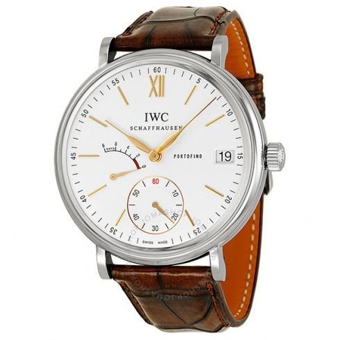 最安値で  IWC/アイダブリューシー メンズ 腕時計 Portofino Dial Hand Wound IW510103 Eight Wound 日s シルバー Dial メンズ Watch IW510103, バラと天使ケンジントンガーデンズ:30326c10 --- airmodconsu.dominiotemporario.com