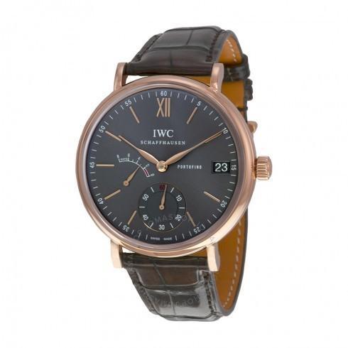 日本最大の IWC/アイダブリューシー メンズ 腕時計 Portofino Hand Wind Grey Dial 18 kt Rose ゴールド メンズ Watch IW510104, calin mia -カランミア- eac3344a