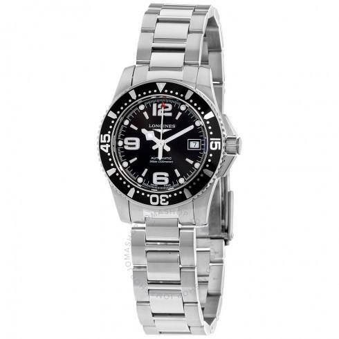 【限定品】 Longines L328445/ロンジン レディース 腕時計 Black HydroConquest Black Dial 自動巻き 自動巻き ステンレス鋼 レディース Watch L328445 L3.284.4.56.6, いいヘナオンラインショップ:431bf1d8 --- airmodconsu.dominiotemporario.com