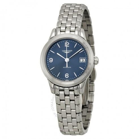 【超歓迎】 Longines レディース/ロンジン レディース 腕時計 Flagship 自動巻き Blue Dial 自動巻き レディース Watch Watch L4.274.4.96.6, プレミ屋@本舗:e09cf468 --- airmodconsu.dominiotemporario.com