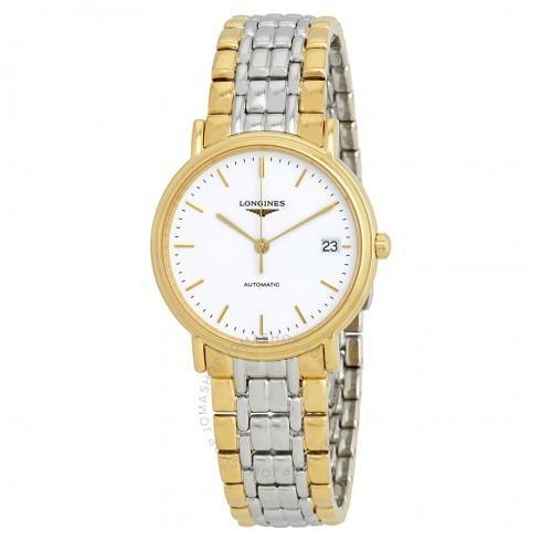【保存版】 Longines L4.821.2.12.7/ロンジン 自動巻き レディース 腕時計 Presence White Dial 自動巻き レディース レディース Watch L4.821.2.12.7, 秘密基地:5d2e346d --- airmodconsu.dominiotemporario.com