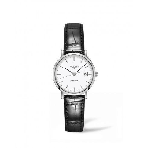 【訳あり】 Longines/ロンジン レディース 腕時計 Dial Elegant White Dial 自動巻き レディース 革製 Watch L43104122, athlete1:3cf978fb --- airmodconsu.dominiotemporario.com