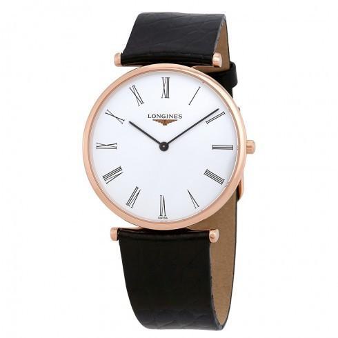 激安大特価! Longines/ロンジン レディース 腕時計 La Dial Grande Classique White Watch White Dial レディース 革製 Watch L47551912, 日本パール:df99ba7a --- airmodconsu.dominiotemporario.com