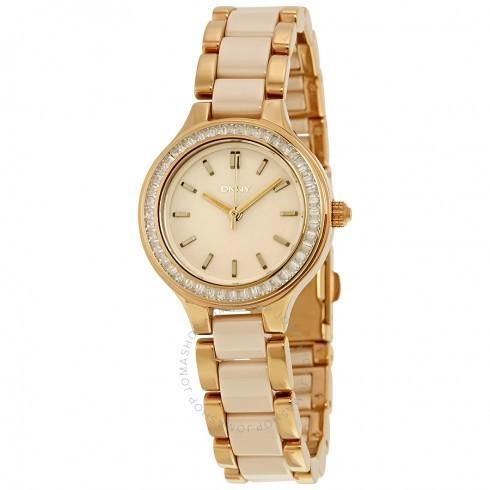 【お得】 DKNY レディース 腕時計 Chambers Champagne Dial レディース Watch NY2467, 芦別市 621a522f