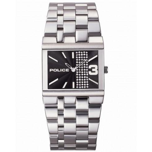 満点の Police/ポリス レディース 腕時計 Glamour Square レディース Watch PL-10501BS-02M, OSショップ 2e59a6be