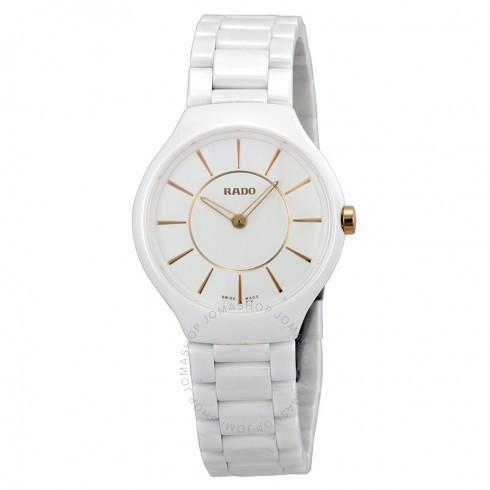 国内発送 Rado/ラドー レディース レディース 腕時計 Ceramic True Thinline Ceramic レディース Thinline Watch R27958102, ラブリーナッツファクトリー:8286368f --- opencandb.online