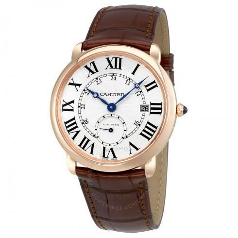【★安心の定価販売★】 Cartier/カルティエ メンズ 腕時計 Ballon Bleu シルバー Dial ブラウン 革 メンズ Watch W6801005, サバの専門店マルカネ 0eb2da8b