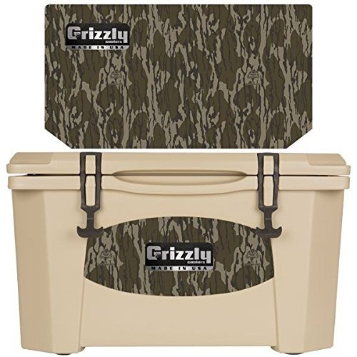 Grizzly/グリズリー クーラーボックス Grizzly Coolers - Tan - Mossy Oak - Bottomland - 40 Quart