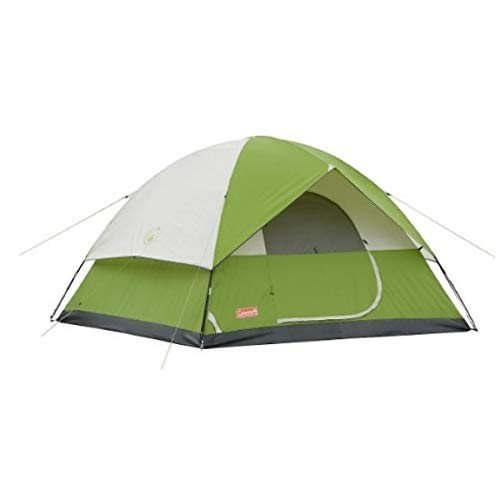 Coleman/コールマン テント Dome Tent for Camping | Sundome Tent with Easy Setup (緑) (4-Person)