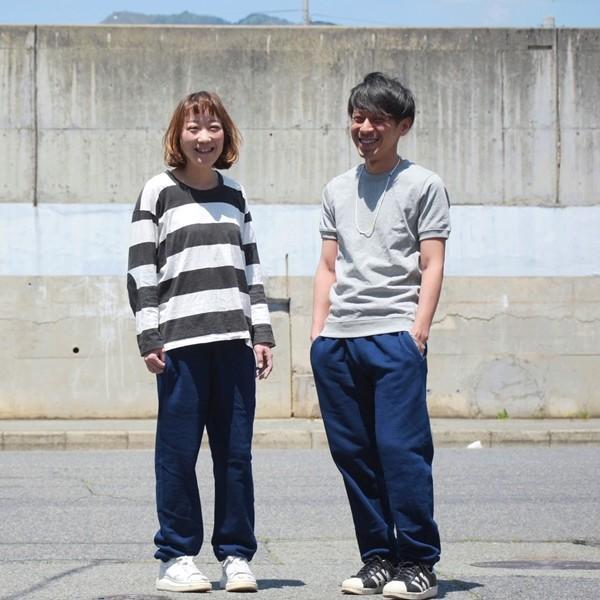 スウェットパンツ コットン メンズ レディース 濃紺 藍染 プレゼント ギフト studio-ichi 02