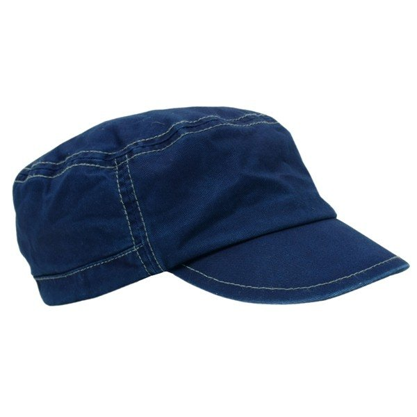 藍染め ワークキャップ インディゴ CAP 帽子 ミリタリー プレゼント ギフト ネイビー キャップ|studio-ichi|06