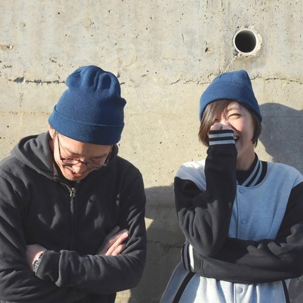 藍染め ニットキャップ メンズ レディース インディゴ 紺色 帽子 プレゼント ギフト studio-ichi 06