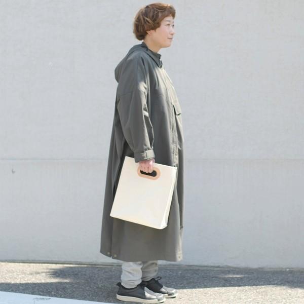 1号帆布 ペーパーバッグ Sサイズ トートバッグ canvas キャンバス 極厚 ヌメ革 シンプル 綿 コットン 名入れ 刻印|studio-ichi|04