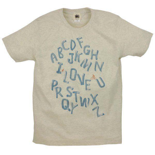 メンズ Tシャツ 半袖 アルファベット ZIOZIO|studio-ichi|03