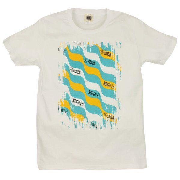 メンズ Tシャツ 半袖 月波模様 ZIOZIO studio-ichi
