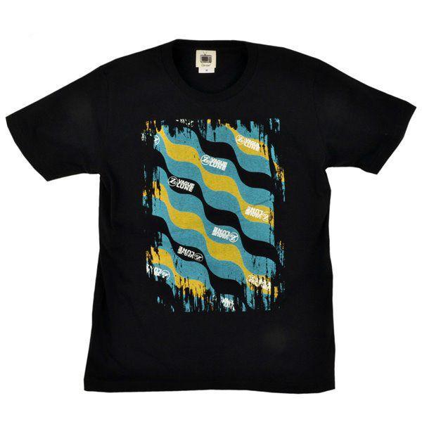 メンズ Tシャツ 半袖 月波模様 ZIOZIO studio-ichi 03