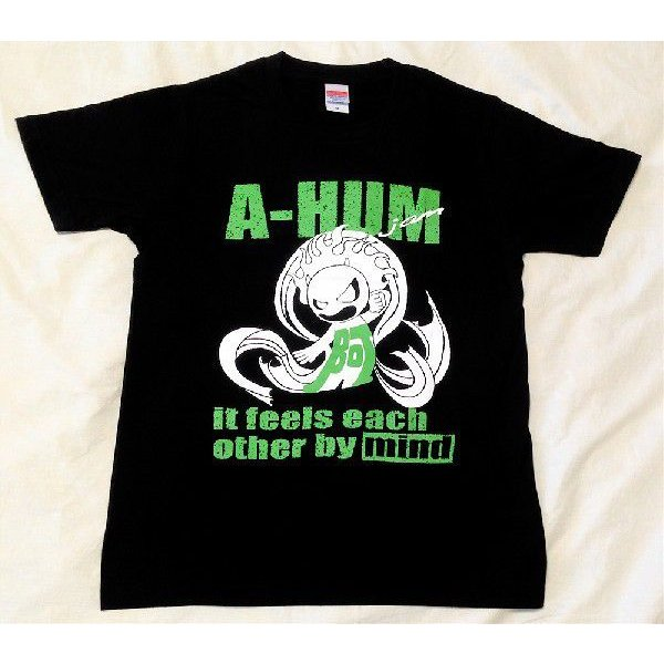 SALE 和柄 デザイン 半袖 Tシャツ プリント オリジナル メール便可 阿吽「ブラック:胸緑×背赤」|studiojam|02