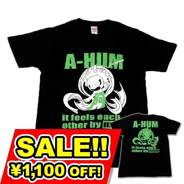 SALE 和柄 デザイン 半袖 Tシャツ プリント オリジナル メール便可 阿吽「ブラック:胸緑×背緑」 studiojam