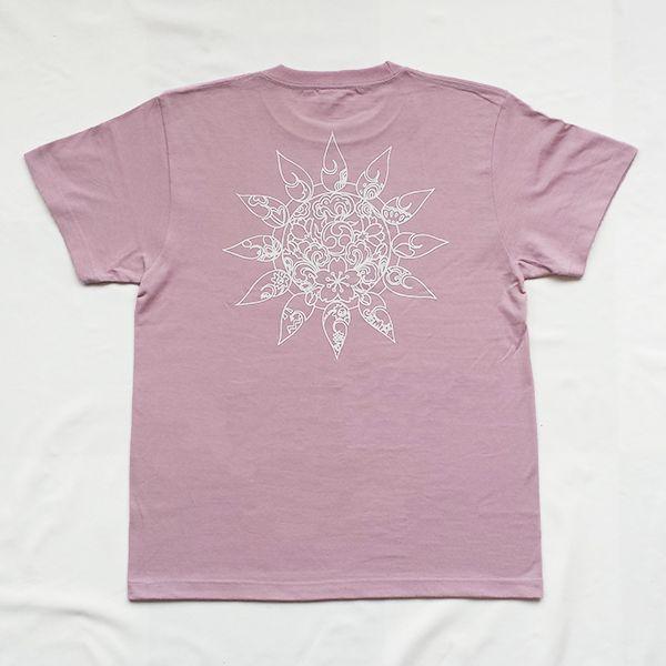 和柄 デザイン 半袖 Tシャツ プリント オリジナル メール便可 雲の向こうはいつも青空「モーブ」 studiojam 03