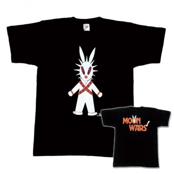半袖 Tシャツ デザイン プリント オリジナル メール便可 MOON WARS「ブラック」 studiojam