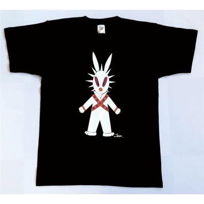 半袖 Tシャツ デザイン プリント オリジナル メール便可 MOON WARS「ブラック」 studiojam 02
