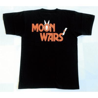 半袖 Tシャツ デザイン プリント オリジナル メール便可 MOON WARS「ブラック」 studiojam 04
