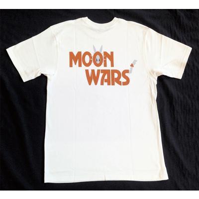 半袖 Tシャツ デザイン プリント オリジナル メール便可 MOON WARS「ホワイト」 studiojam 04