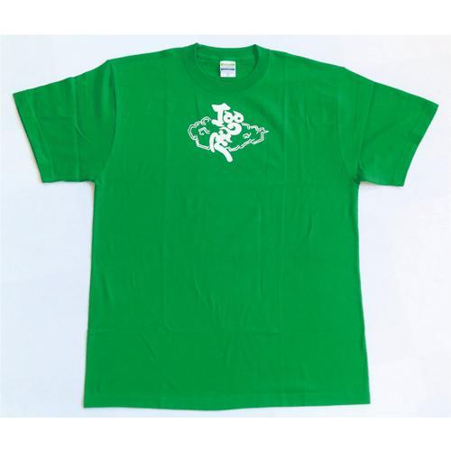 SALE 和柄 デザイン 半袖 Tシャツ プリント オリジナル メール便可 鳴神「グリーン」|studiojam|02