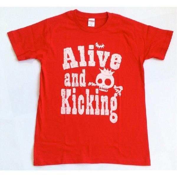 SALE 半袖 Tシャツ デザイン プリント オリジナル メール便可 スケルトン「レッド」 studiojam 02