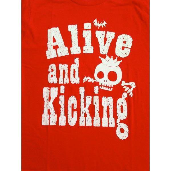 SALE 半袖 Tシャツ デザイン プリント オリジナル メール便可 スケルトン「レッド」 studiojam 04