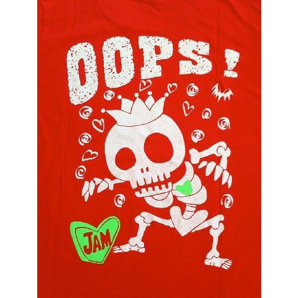 SALE 半袖 Tシャツ デザイン プリント オリジナル メール便可 スケルトン「レッド」 studiojam 05