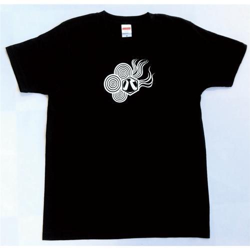 SALE 和柄 デザイン 半袖 Tシャツ プリント オリジナル メール便可 八咫烏「ブラック:白」 studiojam 02