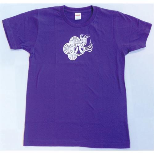 SALE 和柄 デザイン 半袖 Tシャツ プリント オリジナル メール便可 八咫烏「バイオレットパープル」 studiojam 02