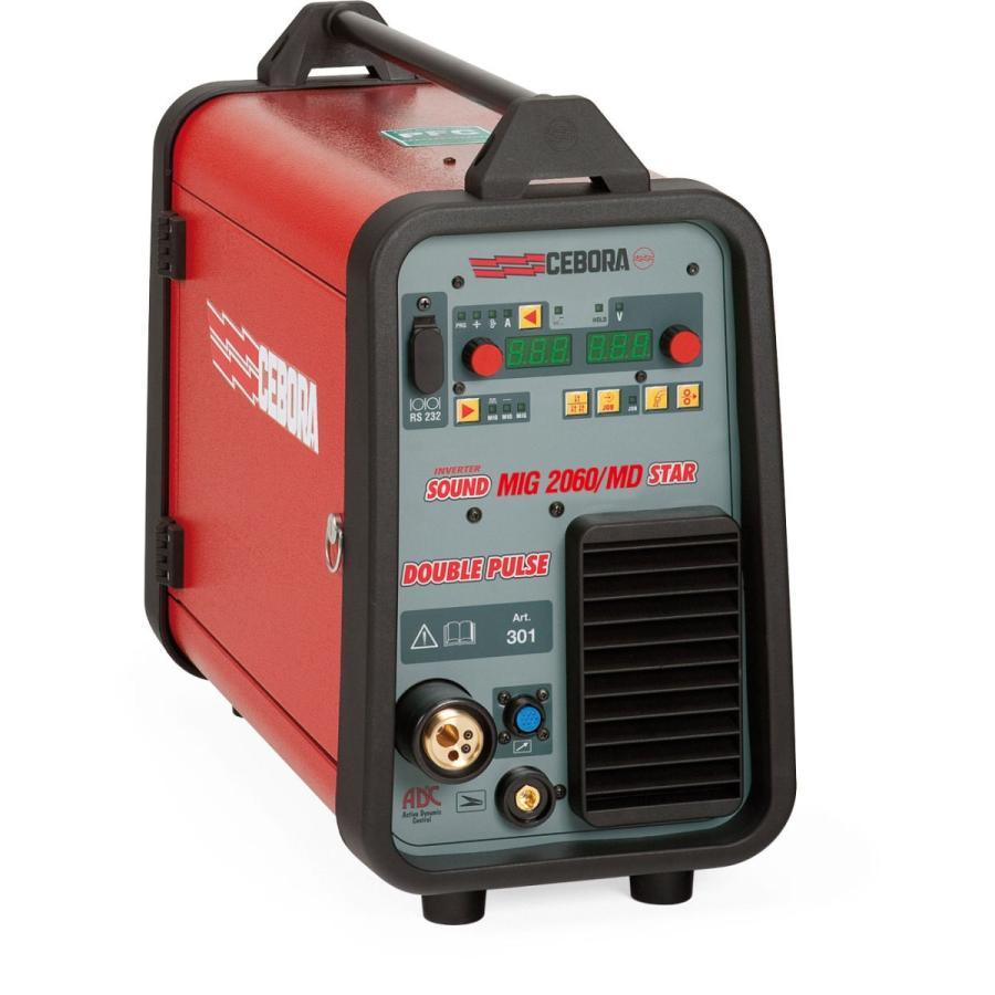 SOUND MIG 2060MD(スチール溶接セット) フルデジタル・インバーター式パルス MIG/MAG自動溶接機  stw-store