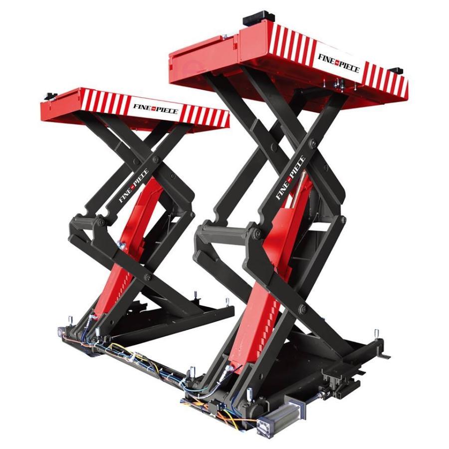 ファインピース(FINEPIECE)プレート・アーム兼用シザースリフト 3.3t PL-SA331R(レッド) SCISSOR lift stw-store 02
