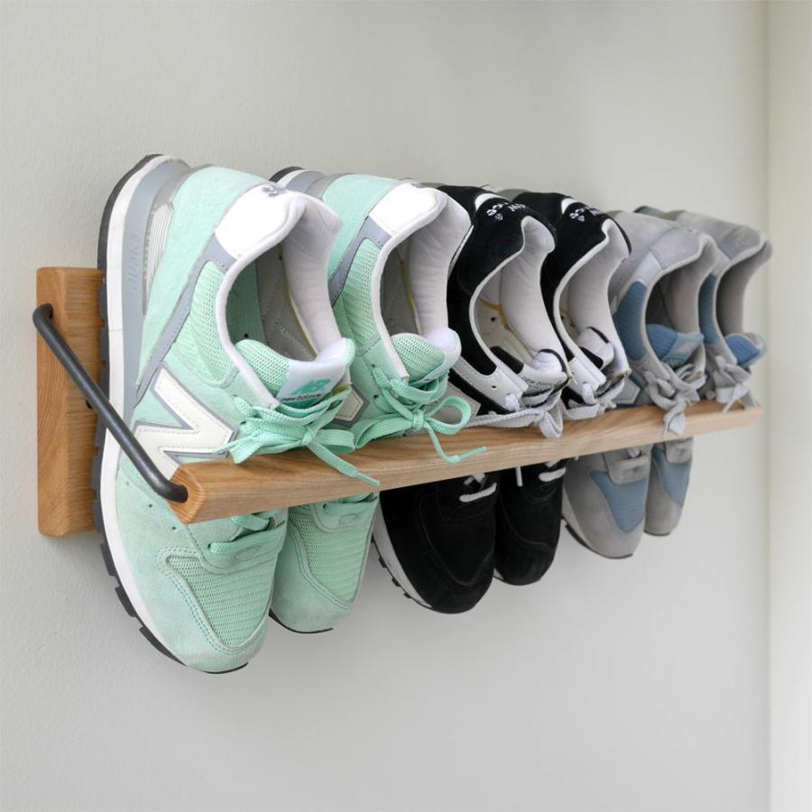 Sneaker wall スニーカーウォール : : : SW-680TM タモ無垢材 014