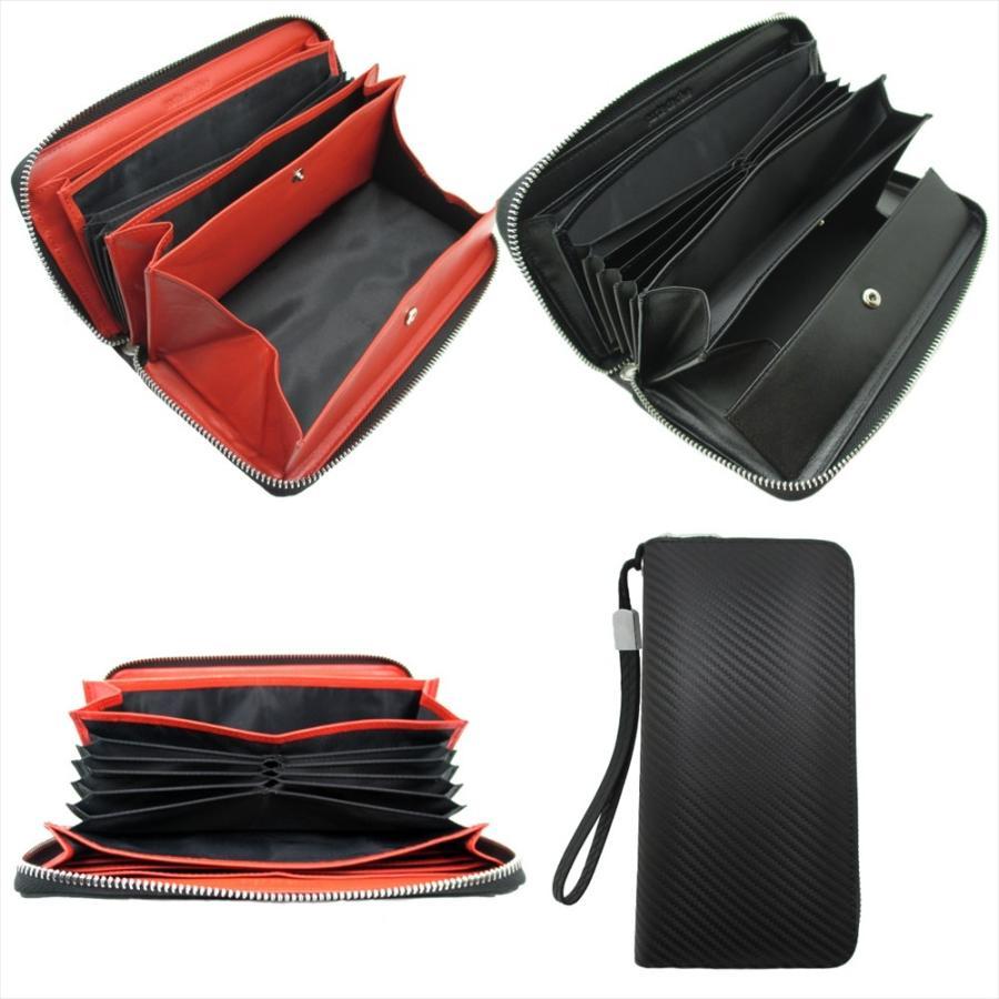 ギャルソンウォレット  長財布 ラウンドファスナー 多機能 ギャルソン財布 大容量 ボックス 小銭入れ style-plus 06