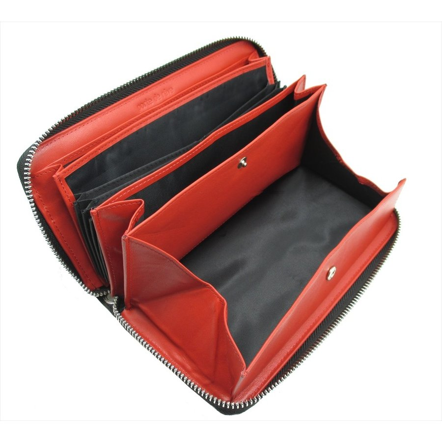 ギャルソンウォレット  長財布 ラウンドファスナー 多機能 ギャルソン財布 大容量 ボックス 小銭入れ style-plus 07