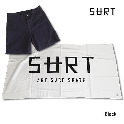 RHC Ron Herman (ロンハーマン): SURT サーフトランクス(ビーチタオル付き)SURF TRUNKS / 黒