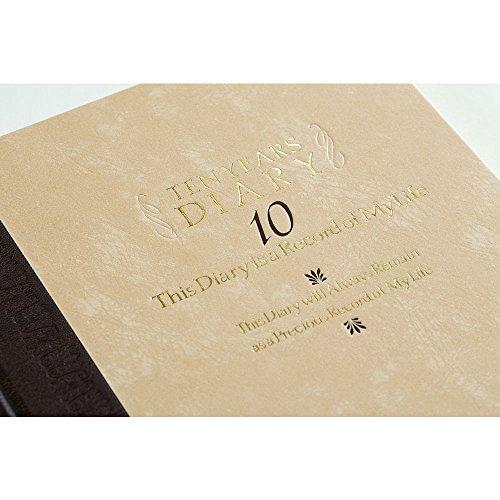 ミドリ 日記 10年連用 洋風 12109001|stylecolorstore|03