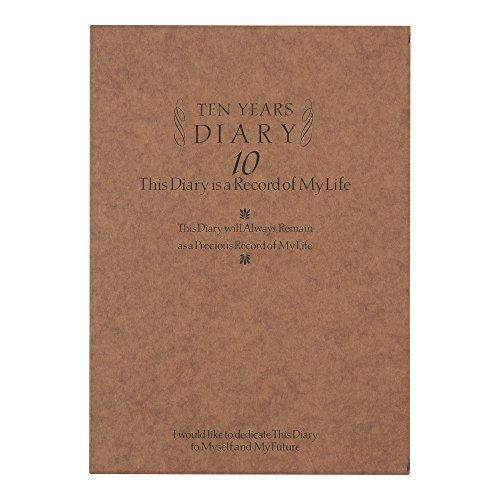 ミドリ 日記 10年連用 洋風 12109001|stylecolorstore|07