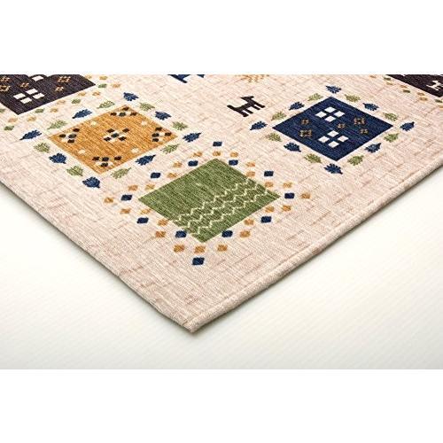 イケヒコ 玄関マット ギャベル アイボリー 約50×80cm ギャベ柄 洗える マット #2034330|stylecolorstore|03