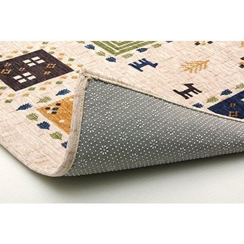 イケヒコ 玄関マット ギャベル アイボリー 約50×80cm ギャベ柄 洗える マット #2034330|stylecolorstore|04